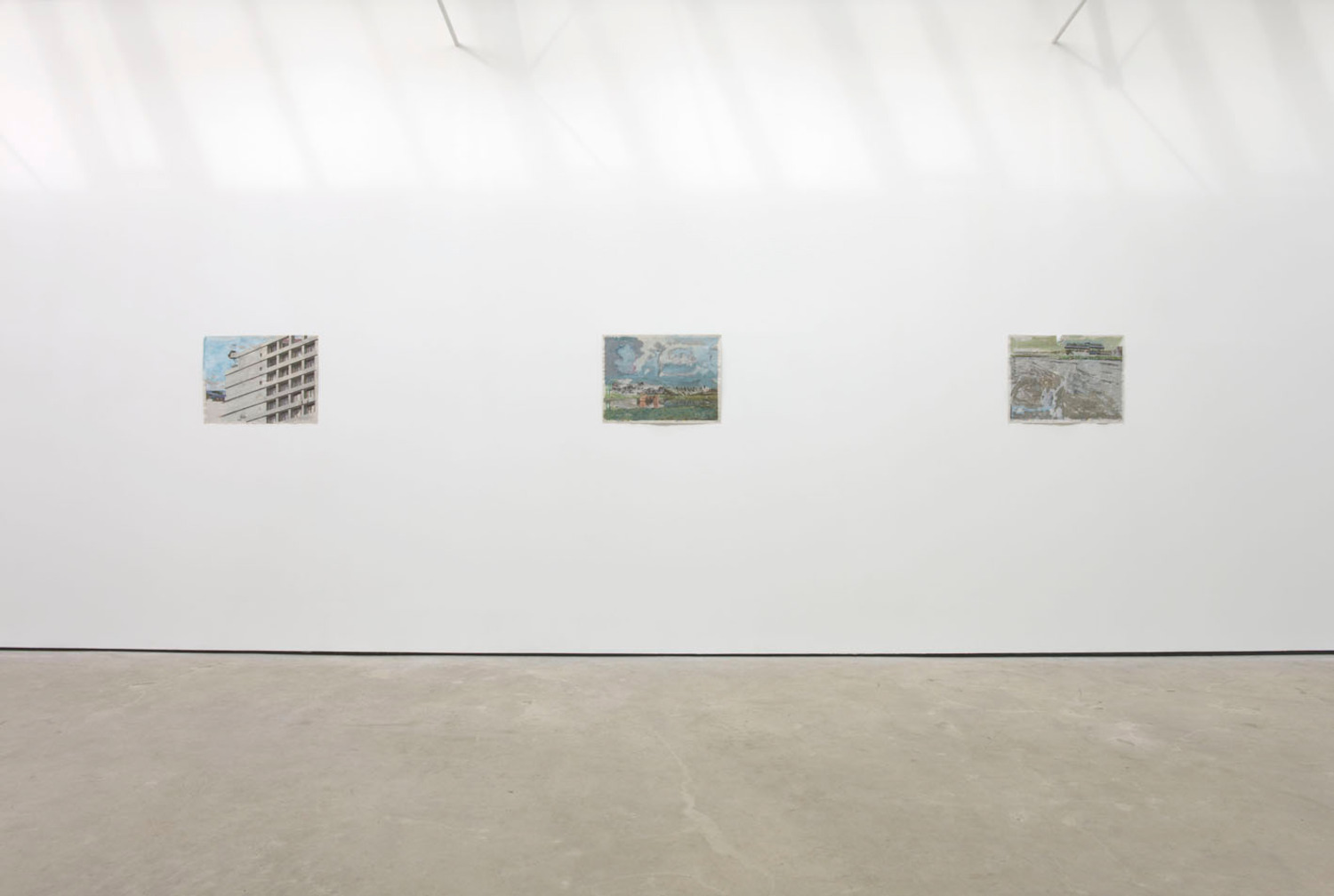 Installation view, 'Afterwards in Pictures', The Modern Institute, Osborne Street, Glasgow, 2011