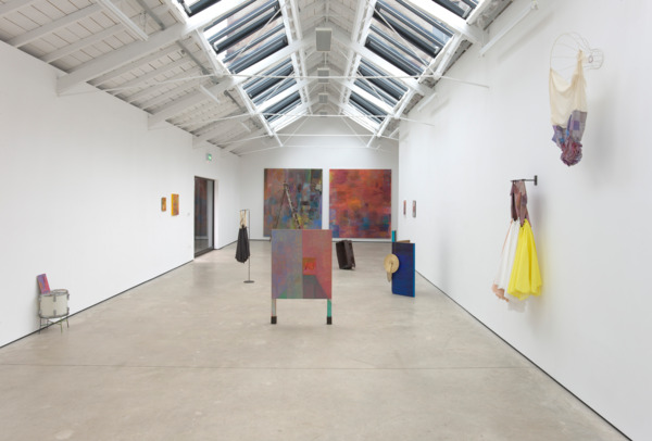 Installation view, 'Her Guitars', The Modern Institute, Osborne Street, Glasgow, 2011