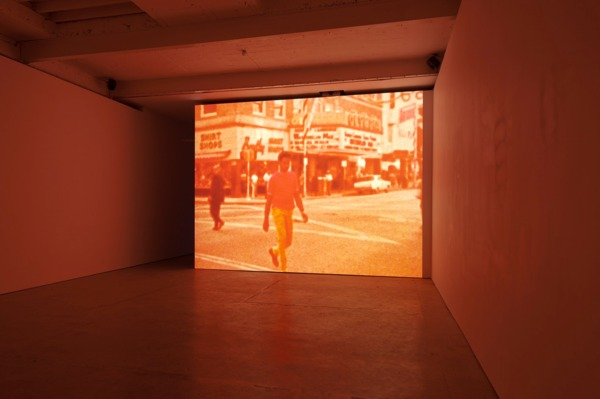 William E. Jones, Shoot Don't Shoot, 2012, Sequence of digital files, colour, sound, Duration: 4 min 33 sec, Installation view, The Modern Institute, Aird's Lane, Glasgow, 2013