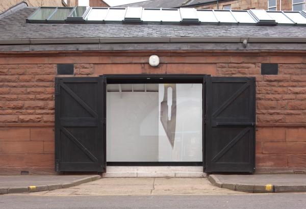 Exterior view, 'The Rose Engine', The Modern Institute, Osborne Street, Glasgow, 2013