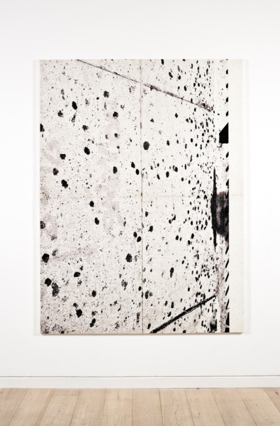 Adam McEwen, Untitled, 2013, Inkjet print on cellulose sponge, 198 x 149 x 3.5 cm