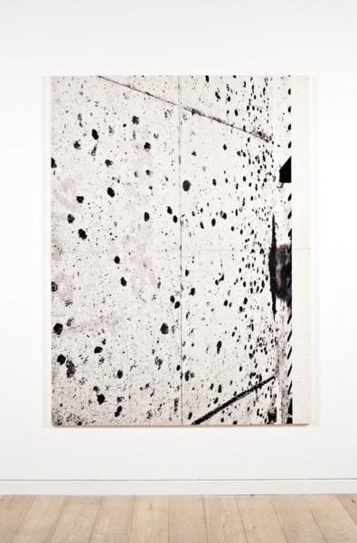 Adam McEwen, Untitled, 2013, Inkjet print on cellulose sponge, 198 x 149 x 3.5 cm