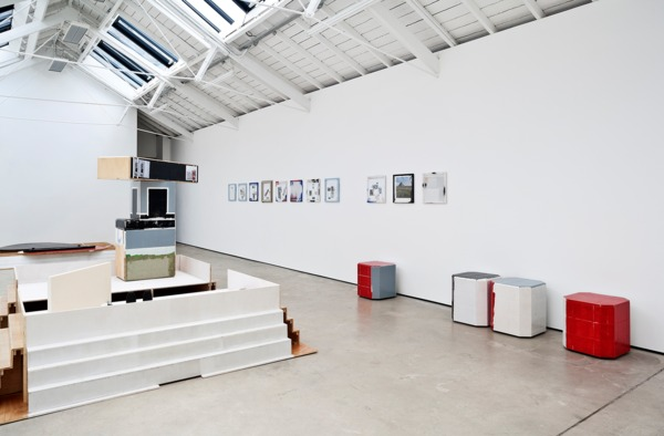Installation view, '«anexos»LOCAL', The Modern Institute, Osborne Street, Glasgow, 2013