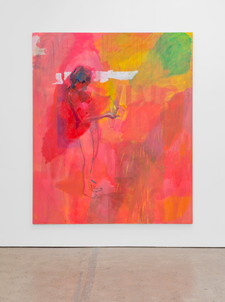 Victoria Morton, Living Made Easy, 2014, Oil on canvas, 300 x 250 x 4 cm