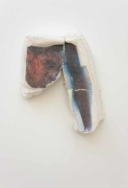 Alex Dordoy, Paradise of new H No. 4, 2012, Plaster, toner, 60 x 45 x 12 cm