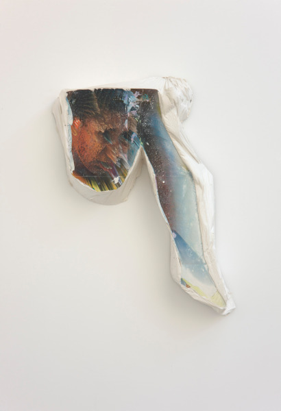 Alex Dordoy, Paradise of new H No. 1, 2012, Plaster, toner, 79 x 45.5 x 15 cm