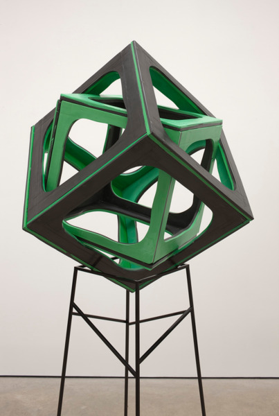 Eva Rothschild, Primary (detail), 2012, Jesmonite, metal, 212 x 77 x 77 cm