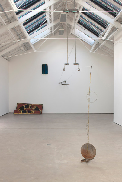 Installation view 'Dynamic Fatigue Test', The Modern Institute Osborne Street, Glasgow, 2012