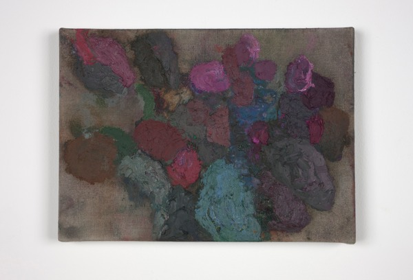Cathy Wilkes, Untitled, 2012, Oil on canvas, 18 x 25 x 2 cm