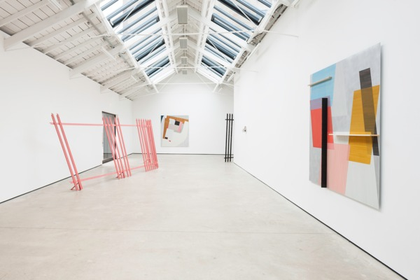 Installation view, 'Soft Boundary', The Modern Institute, Osborne Street, Glasgow, 2014