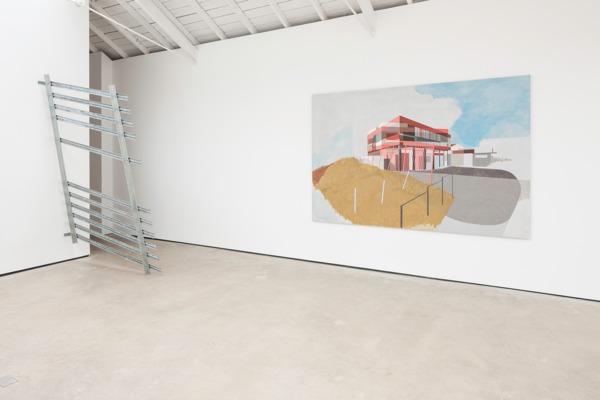 Installation view, 'Soft Boundary', The Modern Institute, Osborne Street, Glasgow, 2014
