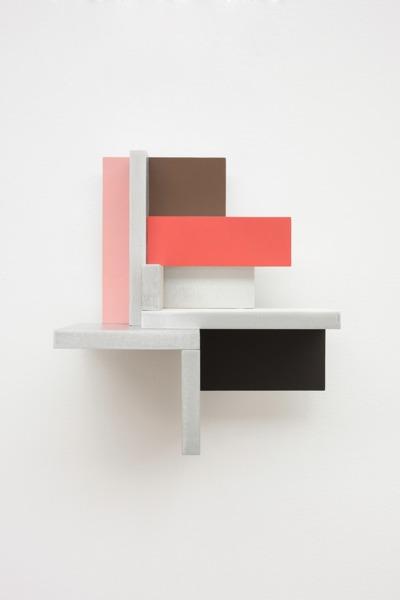 Toby Paterson, Rhubarb Fields, 2014, Acrylic on aluminium, 22 x 20 x 14 cm
