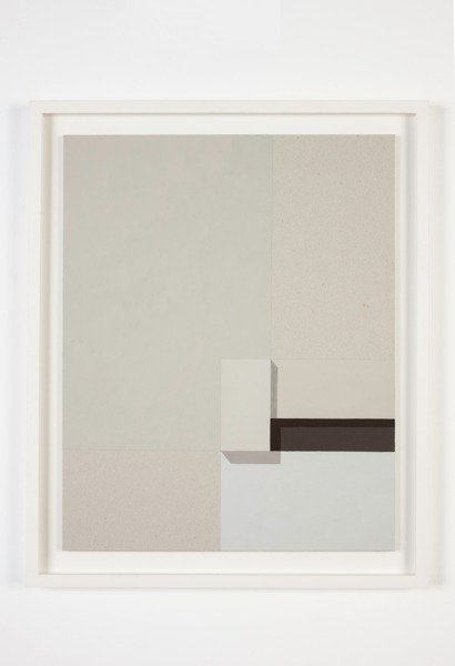 Toby Paterson, The Amenity (Study), 2013, Acrylic on board, 46 x 38 x 2 cm