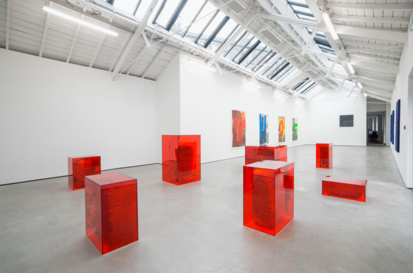 Installation view, 'Mummies', The Modern Institute, Osborne Street, Glasgow, 2014
