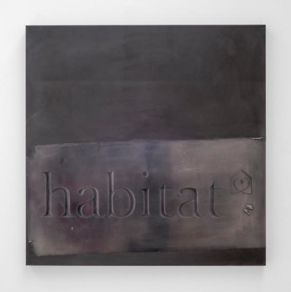 Scott Myles, Habitat, 2014, Electroformed copper, 95 x 95 x 9 cm