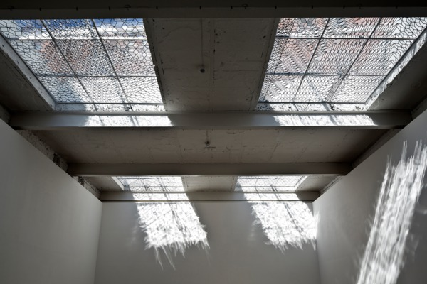 Richard Wright, No Title, 2014, Handmade leaded glass, Dimensions variable, Installation view, The Modern Institute, Aird's Lane, Glasgow, 2014