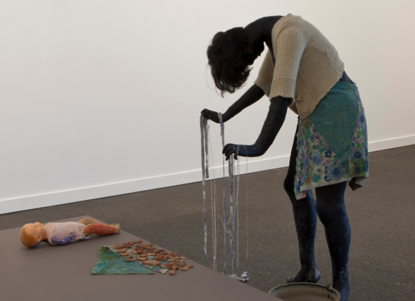 Cathy Wilkes, No Title, 2011, Mixed Media, Dimensions Variable, Installation view, Carnegie Museum of Art, Pittsburgh, 2011