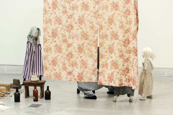 Cathy Wilkes, Untitled (Possil, at last), 2013, Mixed media, Dimensions variable, Installation view, 'Encyclopedic Palace' Venice Biennale, Venice, 2013