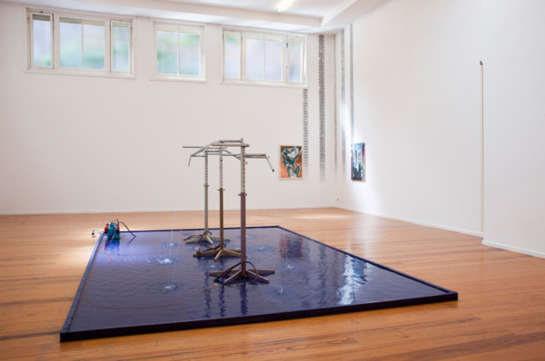 Installation view, 'Psychopomp Counsel', De Ateliers, Amsterdam, 2011