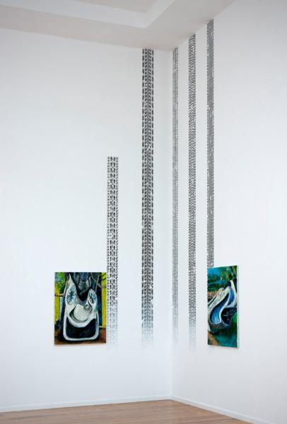 Installation view, 'Psychopomp Counsel', De Ateliers, Amsterdam, 2011