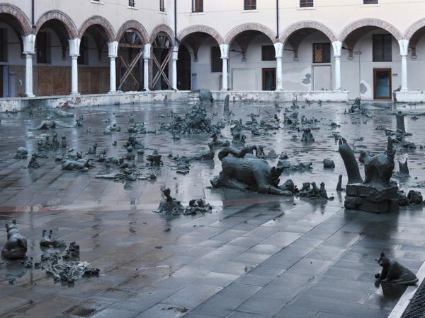 Installation view 'Madam Fisscher', Palazzo Grassi, Venice, 2012