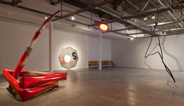 Installation view, 'Rolling Stop', Museum of Contemporary Art, North Miami, 2011