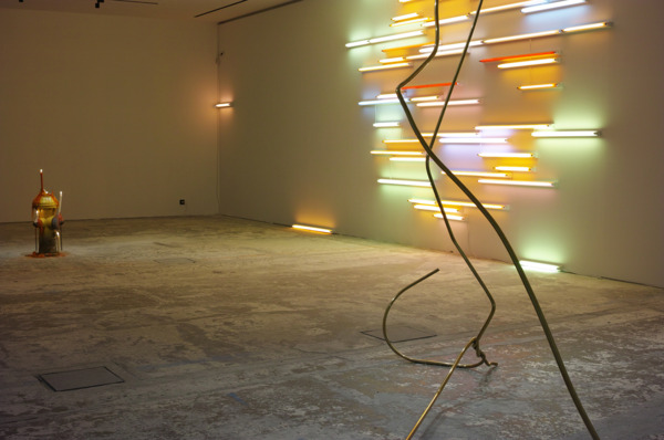 Installation view 'Drop Shadow', Studio des Acacias, Paris, 2014
