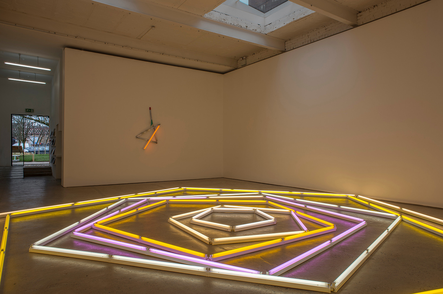 Installation view 'The Excentric Circle', The Modern Institute, Aird's Lane, Glasgow, 2015