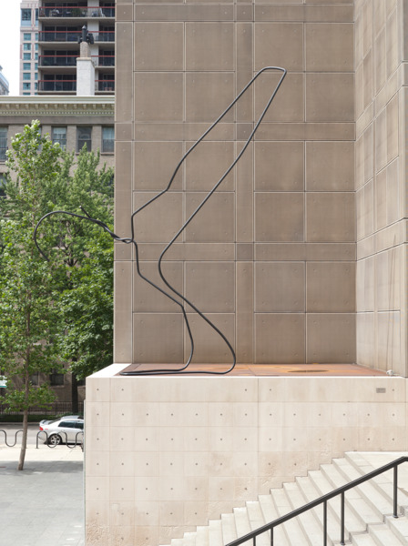 MCA Chicago Plaza Project: Mark Handforth