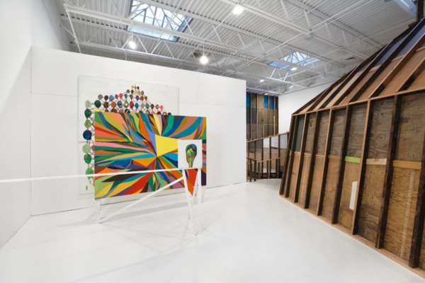 Installation view, 'Totalities', Dietch Projects, New York, 2008