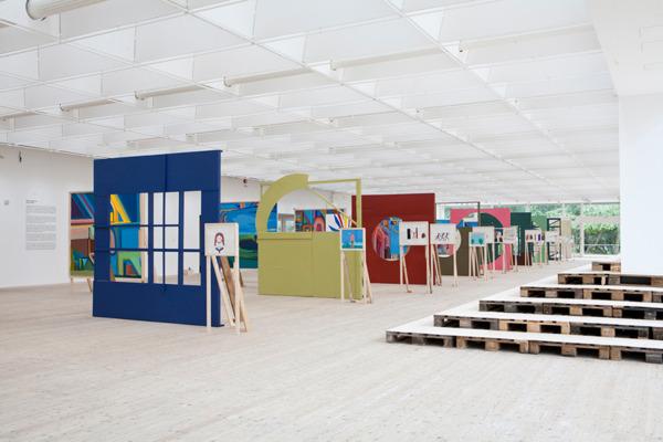 Installation view, 'Alright, Alright', Malmö Konsthall, Malmö, 2011