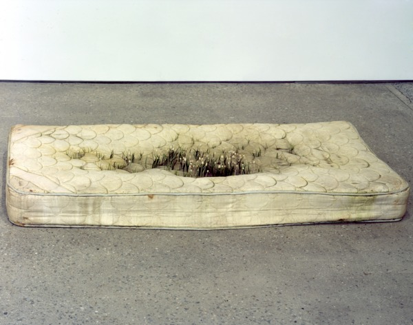 THE BIG SLEEP, 2007, Jesmonite, pigment, acrylic paint, modelling putty, plastic, 24 x 191 x 91 cm