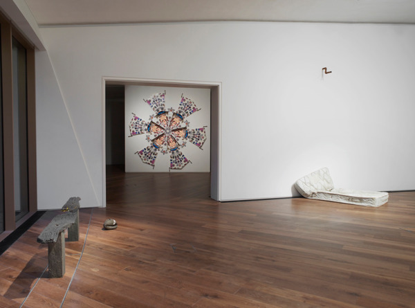Installation view, 'Time is over, time has come', Firstsite, Colchester, 2013