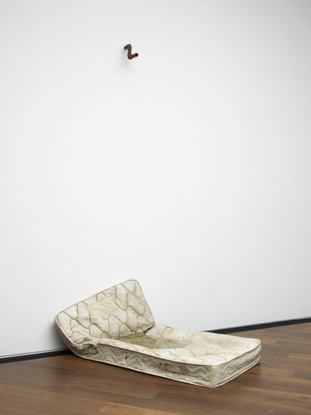You'll be dead for years without even knowing it, 2011, Polyester resin fiberglass, resin cast, motorized water system, 305 x 181.5 x 91.8 cm