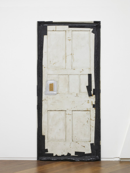 Gap filler, 2011, Polyester resin fiberglass, resin cast, 203.3 x 91.8 x 6.2 cm