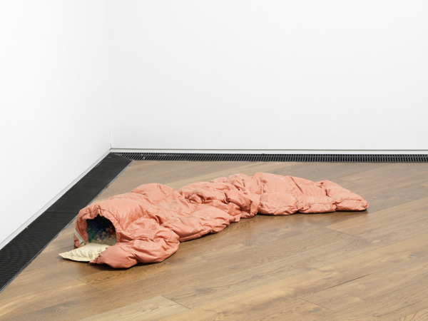 The magic of my youth, 2012, Polyester resin, fiberglass, paint, 28 x 135 x 56 cm