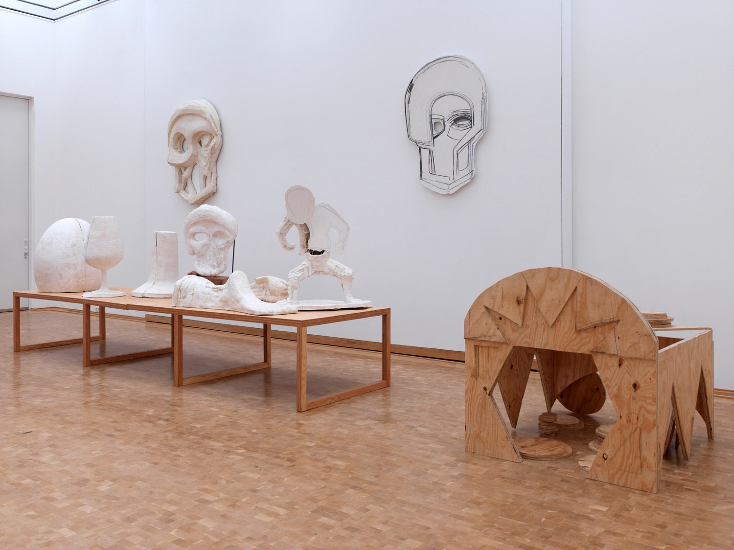 Installation view 'What Went Down', Museum Abteiberg, Moenchengladbach, 2011
