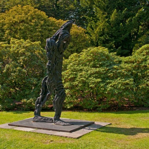 Untitled (Lumpy Figure), 2009, Bronze
