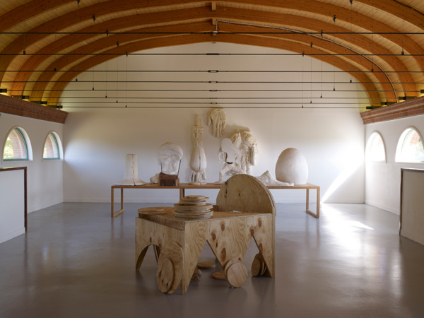 Installation view, 'What Went Down', Centre International D'Art & Du Paysage, Ile de Vassivière, 2011