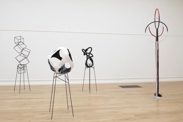 Installation view, 'Eva Rothschild', South London Gallery, London, 2007
