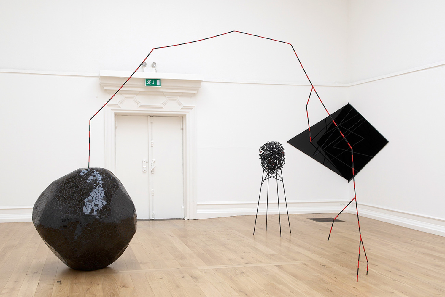 Installation view, 'Eva Rothschild', South London Gallery, London, 2007