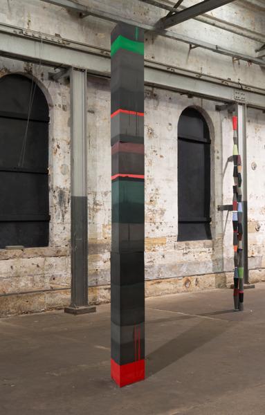 Darkside, 2014, Jesmonite, aluminium, polystyrene, fibreglass, 360 x 50 x 50 cm