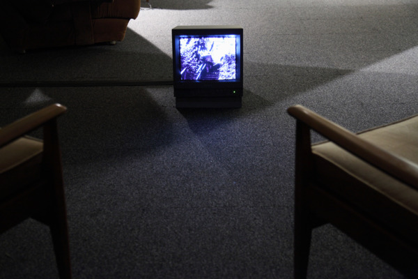 The Nine Monads of David Bell 2006, Installation of sound, B/W, Super-8 film and archive materials, Dimensions Variable, Edition of 3 + 2 AP
