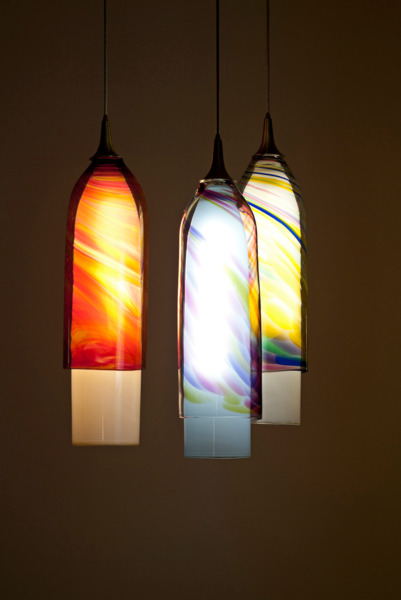 Muffel Glass Hanging Lights, 2013