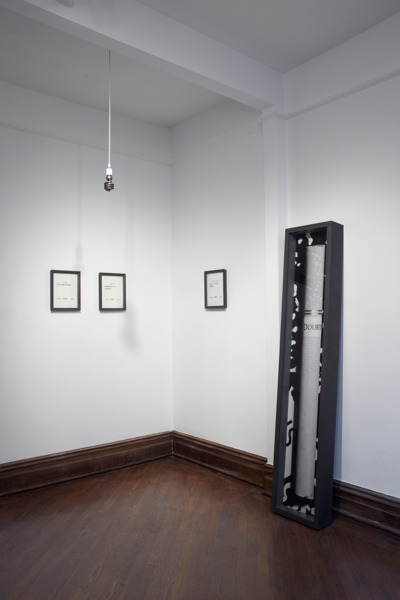 Installation view 'A Real Slow Drag', Marianne Boesky Gallery, New York, 2011