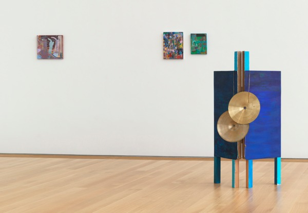 Installation view, 'Tapestry (RADIO ON)', Isabella Stewart Gardner Museum, Boston, 2012