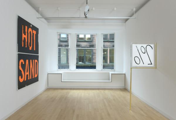 Installation view, 'ELBA', Glasgow Print Studio, Glasgow, 2010