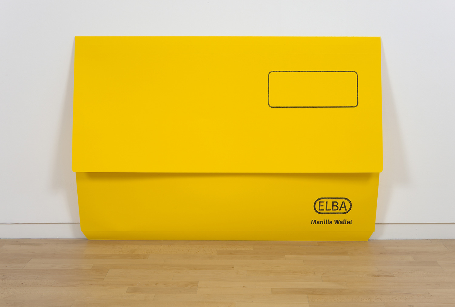 Scott Myles, The Past From Above (Elba Yellow), 2010, Screenprint on Paper, 144 x 99 x 4 cm