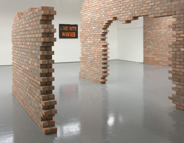 Installation view, 'This Production', DCA, Dundee, 2012