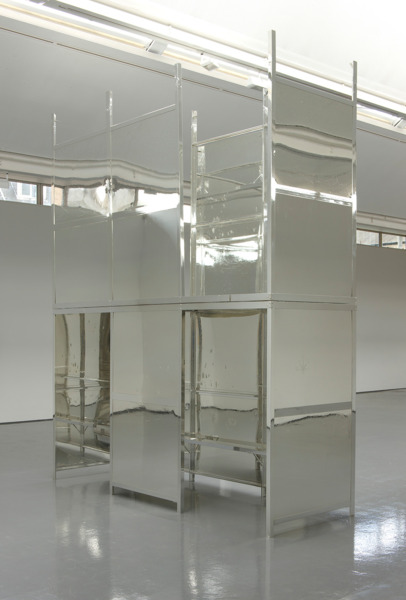 Scott Myles, Analysis (Mirror), 2012, Found Object, Silver, UV Lacquer, 459 x 374 x 127 cm